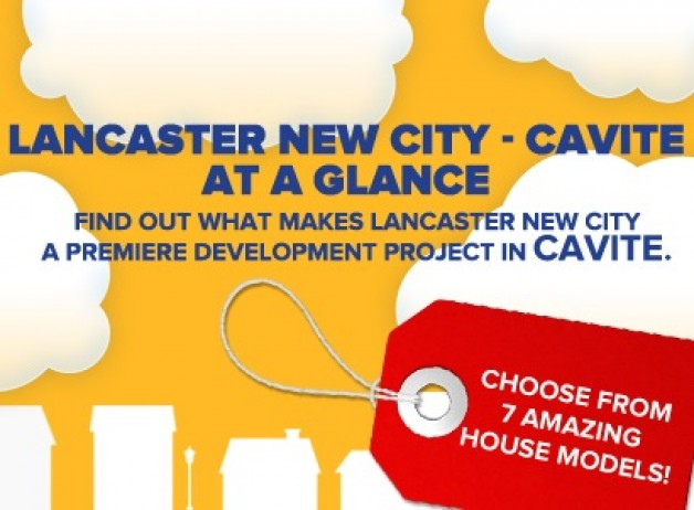 Infographic: Lancaster New City – Cavite at a Glance