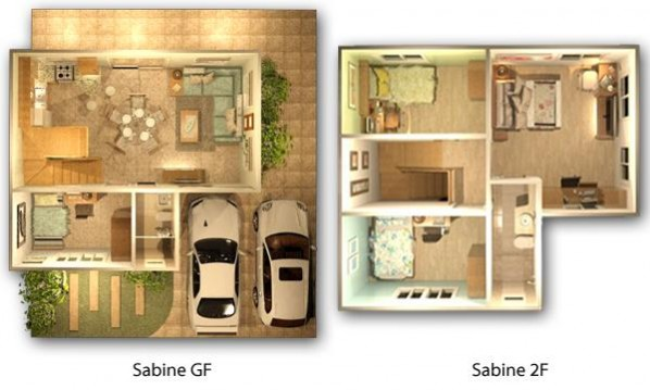 Sabine Floor Plan